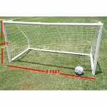 Workoutz 8x4 Portable Soccer Goal