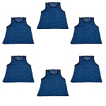 Youth Scrimmage Vest (Blue, 6 Qty)