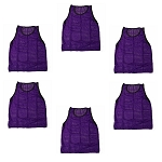 Youth Scrimmage Vest (Purple, 6 Qty)