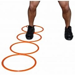 Workoutz Agility Rings- 15 inches (Set of 12)