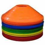 Workoutz Saucer Disc Cone (Set of 50) with Carrier