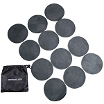 Workoutz Agility Dot Set with Carry Bag (Black)