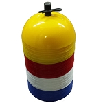 Workoutz 40-Ct Dome Marker Cone Set with Carrier