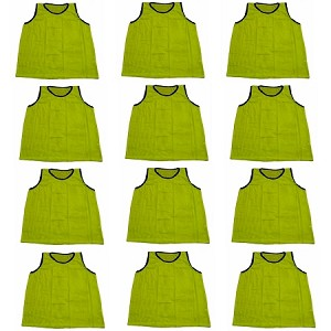 Workoutz Youth Scrimmage Vests 12 Pack (Yellow)
