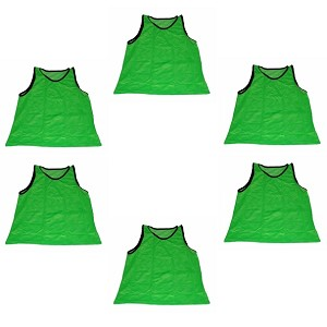 Youth Scrimmage Vest (Green, 6 Qty)