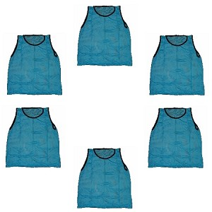 Youth Scrimmage Vest (Light Blue, 6 Qty)