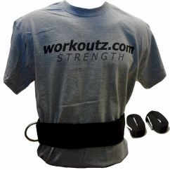Workoutz three-inch waist belt