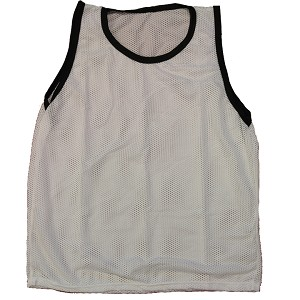 Youth Scrimmage Vest (White, 1 Qty)