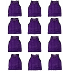 Workoutz Youth Scrimmage Vests 12 Pack (Purple)