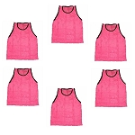 Adult Scrimmage Vest (Pink, 6 Qty)