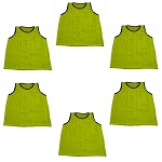 Adult Scrimmage Vest (Yellow, 6 Qty)