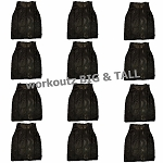 Big And Tall Scrimmage Vests 12 Pack (Black)