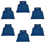Big & Tall Scrimmage Vest (Blue, 6 Qty)