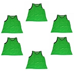 Big & Tall Scrimmage Vest (Green, 6 Qty)