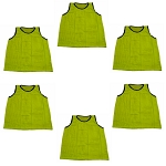 Big & Tall Scrimmage Vest (Yellow, 6 Qty)