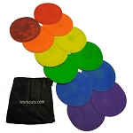 Workoutz Agility Dot Set with Carry Bag (Multicolored)