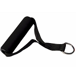 Workoutz Padded Resistance Band Handle with D-Ring (1 Piece)