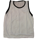 Adult Scrimmage Vest (White, 1 Qty)