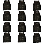 Adult Scrimmage Vests 12 Pack (Black)